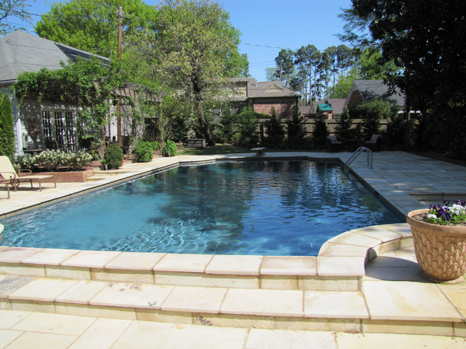 Custom Pool Design Installation and Construction - Growth Spurts